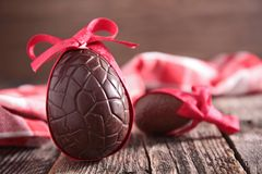 Free Chocolate Eggs Royalty Free Stock Images - 48434799