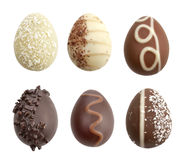 Chocolate Eggs Royalty Free Stock Image