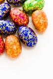 Chocolate eggs Stock Image