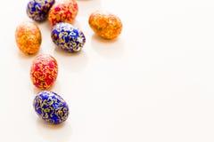 Chocolate eggs Royalty Free Stock Photo