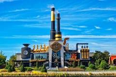 The Chocolate Emporium Restaurant at the Universal Studio Resort in Orlando, Florida. ORLANDO FL,USA - JANUARY 8, 2019 : The Chocolate Emporium Restaurant at the royalty free stock photo