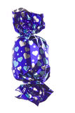 Chocolate en la envoltura aislada Fotos de archivo libres de regalías