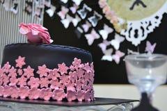 Chocolate en rosa Imagen de archivo libre de regalías