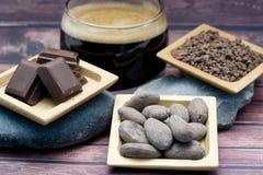 Chocolate en todas sus formas Fotos de archivo