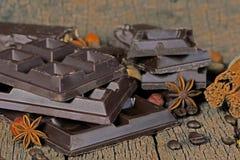 Chocolate escuro Imagem de Stock