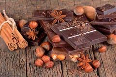 Chocolate escuro Foto de Stock