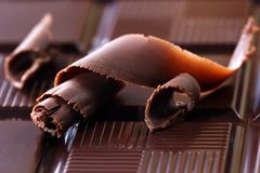 Chocolate escuro fotos de stock royalty free