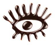 Chocolate eye Stock Photos