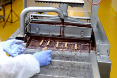 Chocolate factory Royalty Free Stock Photos