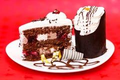 Chocolate fancy cake Royalty Free Stock Photo
