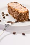 Chocolate fancy cake Stock Photo