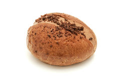 Chocolate filled Sweet Bun Royalty Free Stock Image