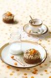 Chocolate Financier Cakes Royalty Free Stock Image