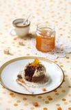 Chocolate Financier Cakes Stock Images