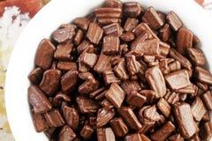 Chocolate flake Royalty Free Stock Image