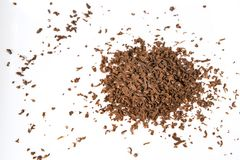 Chocolate flakes Royalty Free Stock Photography
