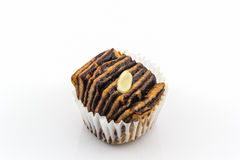 Chocolate flaky mini bread. Stock Images