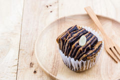 Chocolate flaky mini bread. Royalty Free Stock Photos