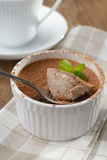 Chocolate flan Royalty Free Stock Images