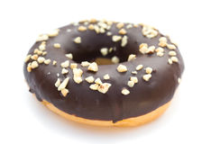 Chocolate flavor donut Royalty Free Stock Photo