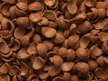 Chocolate flavored cereal Royalty Free Stock Photos
