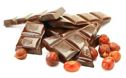 Chocolate flow Royalty Free Stock Image