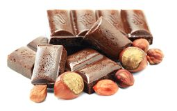 Chocolate flow Stock Photos