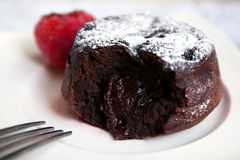 Chocolate fondant Royalty Free Stock Photo
