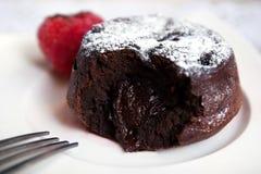 Chocolate fondant Royalty Free Stock Photo