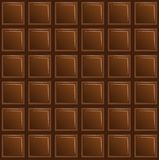 Chocolate, fondo para un diseño Fotos de archivo