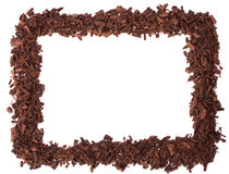 Chocolate frame Royalty Free Stock Image
