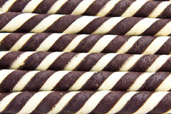 Chocolate frame. Galaxy chocolate bars to the plate Royalty Free Stock Photography