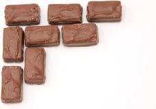 Chocolate frame Royalty Free Stock Photo