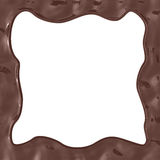Chocolate frame Royalty Free Stock Photo