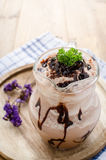 Chocolate frappe Stock Photos