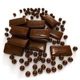 Chocolate frenzy Stock Photo