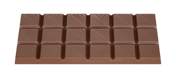 Chocolate. Fresh brown milk chocolate bar Stock Image