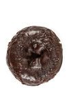 Chocolate frosted cake donuts Royalty Free Stock Photo