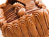 Chocolate Frosting Cake Stock Photos