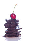 Chocolate and fruit Royalty Free Stock Photos