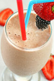 Chocolate Fruit Smoothie Royalty Free Stock Images