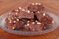 Chocolate Fudge Stock Image