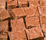 Chocolate fudge. For holiday baking Royalty Free Stock Image