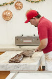 Chocolate fudge Maker Royalty Free Stock Photography