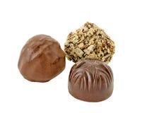 Chocolate gathering Stock Photo