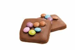 Chocolate german cookies Royalty Free Stock Photos