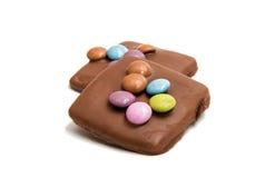 Chocolate german cookies Royalty Free Stock Photo