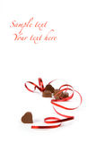 Chocolate gift Stock Images