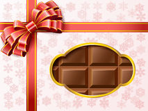 Chocolate gift box. Stock Image