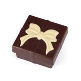 Chocolate gift box Stock Photo